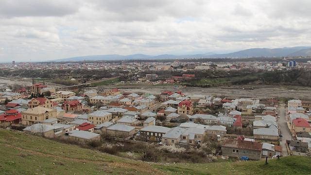 העיר העתיקה קובה בהרי הקווקז באזרבייג'ן. מונה כ-4,0000 יהודים (צילום: בילי פרנקל) (צילום: בילי פרנקל)