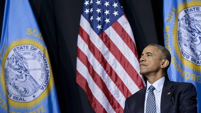 71 אחוזים מההיספנים הצביעו לו בבחירות האחרונות. ברק אובמה (צילום: AFP) (צילום: AFP)