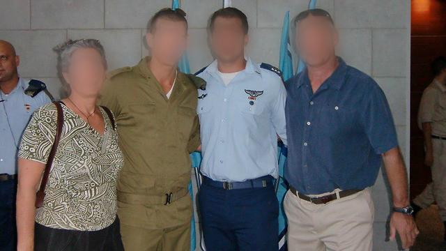 """משפחה עם מורשת קרב מלפני קום המדינה (צילום: דובר צה""""ל) (צילום: דובר צה"""