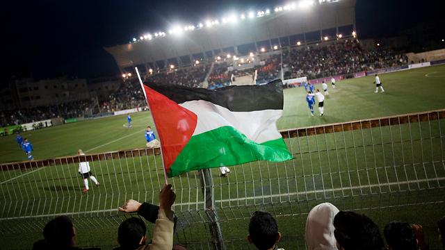 Palestinian team in Ramallah (Photo: AP)