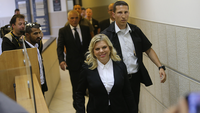 שרה נתניהו בבית הדין לעבודה. ארכיון  (צילום: אלכס קולומויסקי) (צילום: אלכס קולומויסקי)