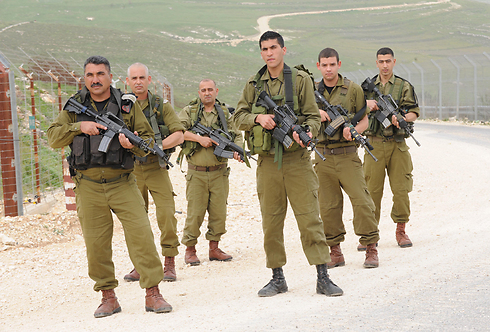 Druze scouts on the Lebanon border (Photo: Avihu Shapira)