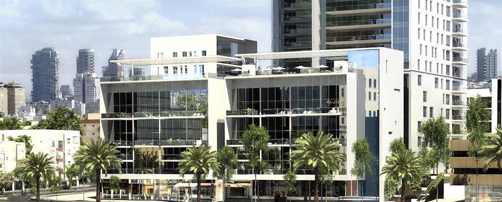 """הדמיית בניין הבוטיק במתחם סומייל. 30 אלף שקל למ""""ר (הדמיה: View Point) (הדמיה: View Point)"""