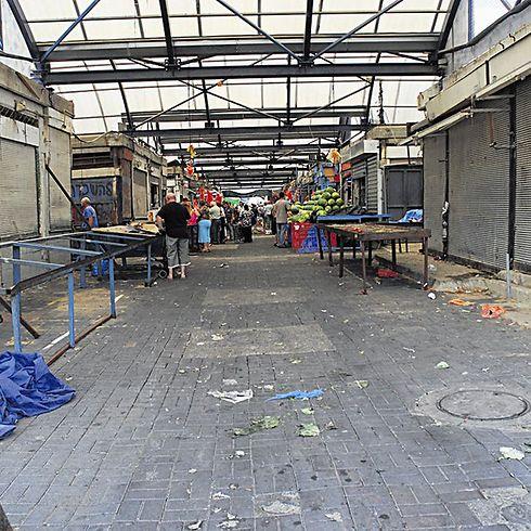 השוק העירוני באר שבע (צילום: הרצל יוסף)