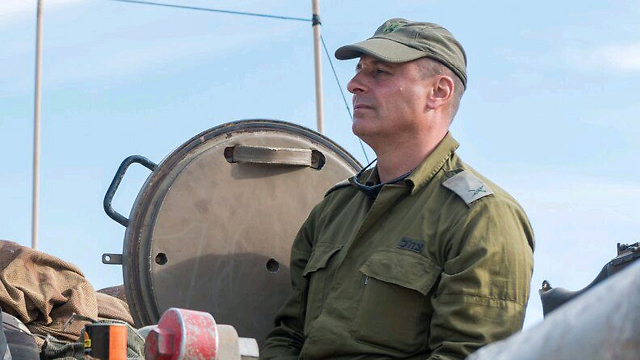 """מפקד אוגדה 36 תא""""ל תורג'מן (צילום: מתן פורטנוי, דובר צה""""ל) (צילום: מתן פורטנוי, דובר צה"""
