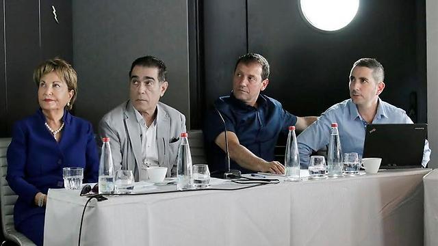 רעיה שטראוס באירוע הצגת המיזם הטכנולוגי BIZIBOX, מלון רויאל ביץ', תל אביב (צילום: דנה קופל ) (צילום: דנה קופל )