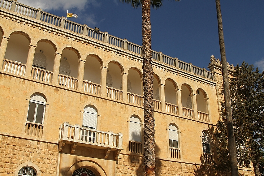 מבנה המכון האפיפיורי (צילום: רון פלד)