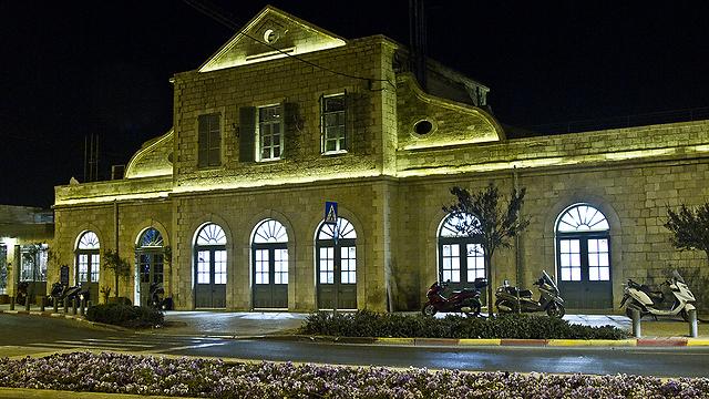 מתחם התחנה (צילום: רון פלד) (צילום: רון פלד)