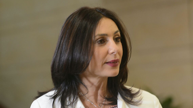 Culture Minister Regev (Photo: George Ginsburg)