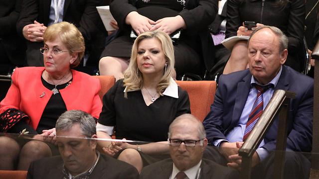 רעיית ראש הממשלה, בדיון בכנסת לקראת השבעת הממשלה (צילום: דוברות הכנסת) (צילום: דוברות הכנסת)