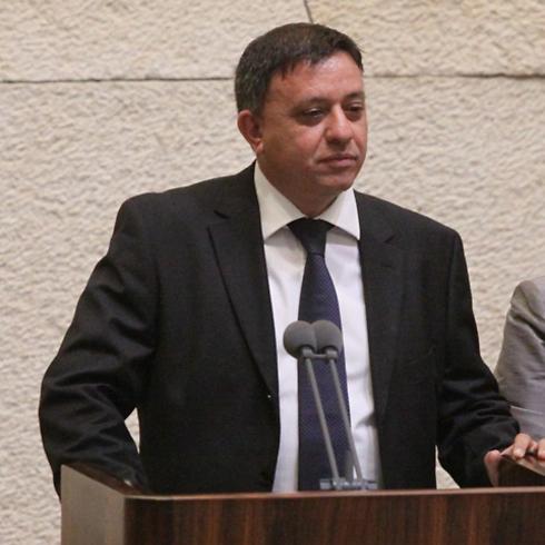השר גבאי, היחיד שהתנגד (צילום: דוברות הכנסת) (צילום: דוברות הכנסת)