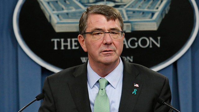 US Secretary of Defense Ashton Carter, a sort of Santa Claus, coming to hand out gifts (Photo: Reuters)