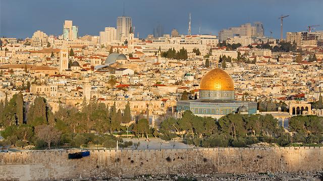 The Al-Aqsa mosque on Jerusalem's Temple Mount. (Photo: Shutterstock) (Photo: Shutterstock)
