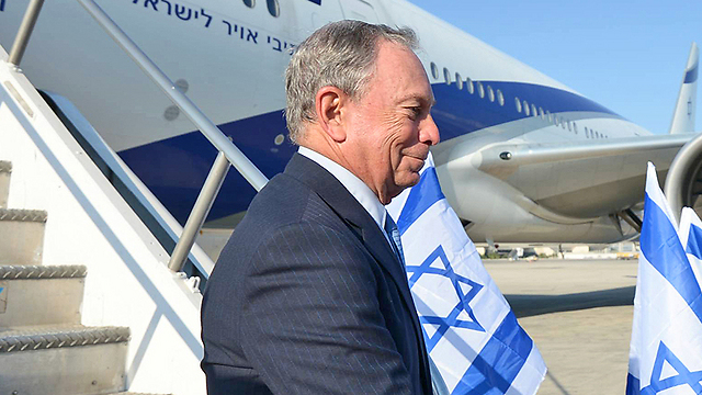Michael Bloomberg. Working for Jerusalem's future (Photo: GPO)