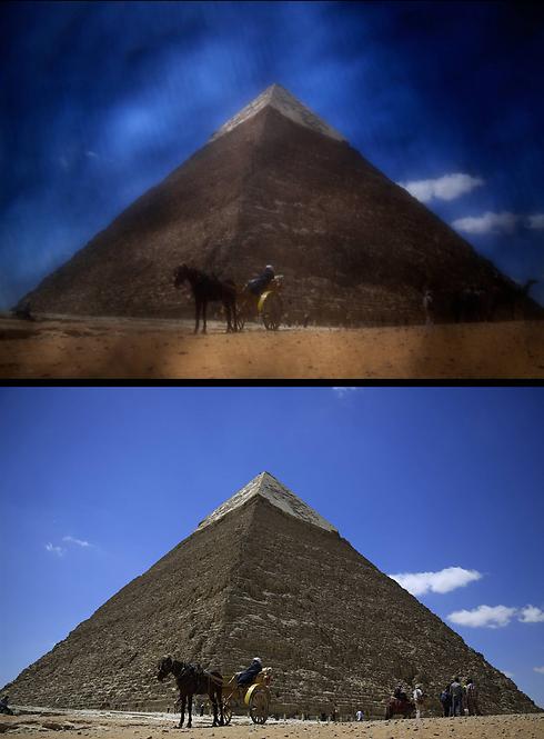 הפירמידות במצרים (צילום: AP) (צילום: AP)