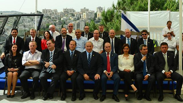 """ישיבת ממשלה חגיגית במוזיאון ישראל (צילום: קובי גדעון, לע""""מ) (צילום: קובי גדעון, לע"""