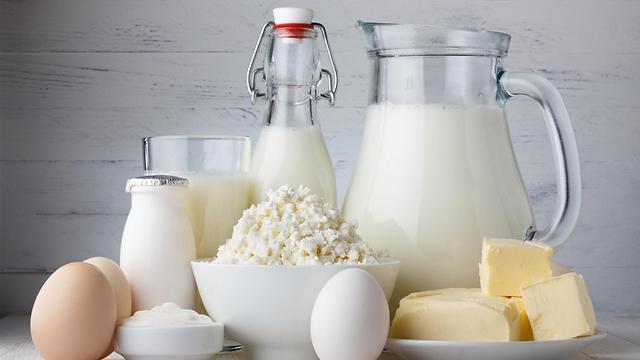 מוצרי חלב. מגנים על הלב (צילום: shutterstock) (צילום: shutterstock)