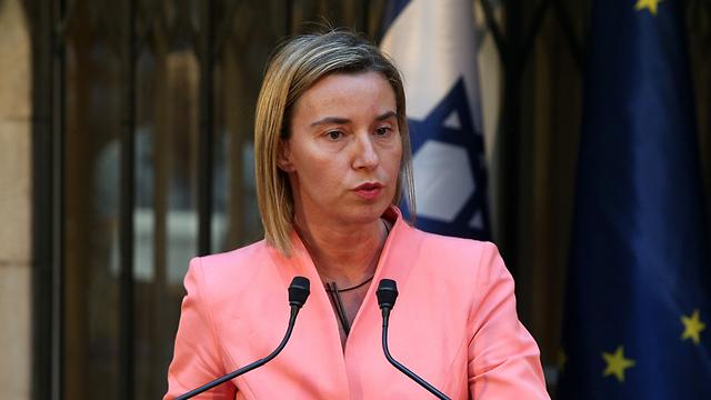 EU foreign policy chief Mogherini (Photo: Amit Shaabi) (Photo: Amit Shaabi)