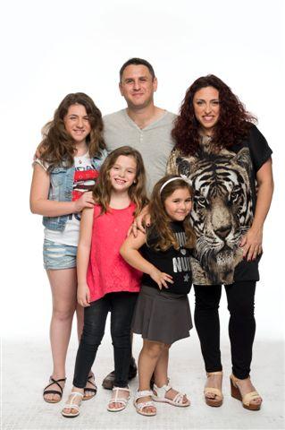 משפחת רובין (צילום: יונתן בלום) (צילום: יונתן בלום)