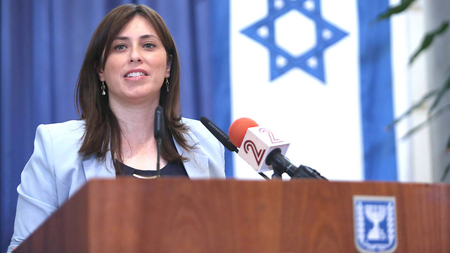 Hotovely. Are political opinions a reason for boycotting someone?  (Photo: Gil Yohanan)
