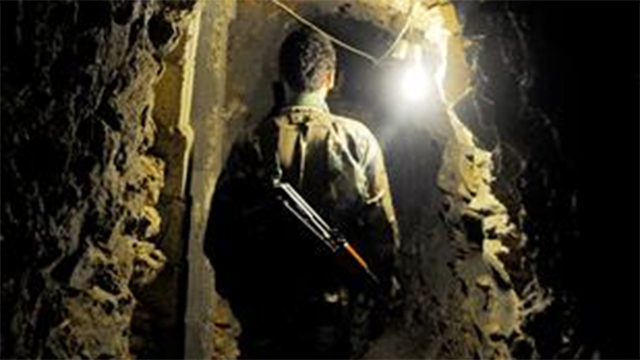 Purported Hezbollah tunnel, from As-Safir