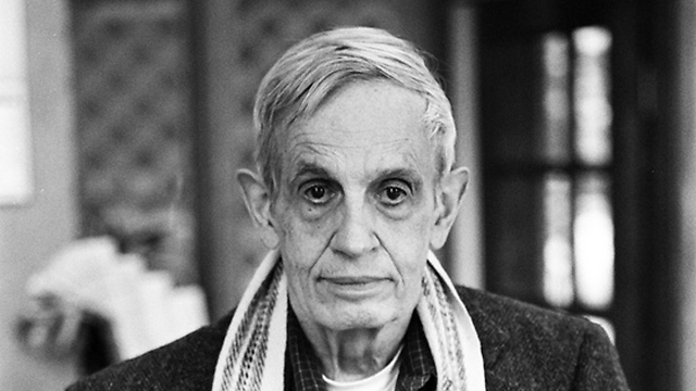 John Nash. A giant in his field (Photo: Peter Badge / Typos 1)