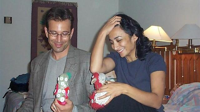 Daniel Pearl (L), who was allegedly murdered by Mohammed
