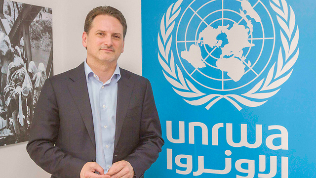 UNRWA Commissioner-General Krähenbühl (Photo: Ido Erez)