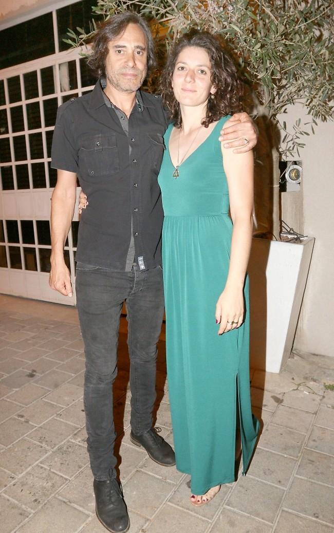 היוש. חמי רודנר ואשתו קרן (צילום: ענת מוסברג)