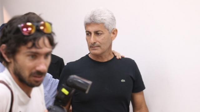 ראש העיר אור יהודה בבית המשפט (צילום: מוטי קמחי) (צילום: מוטי קמחי)