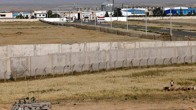 מעבר נסיב שבגבול ירדן-סוריה. בשליטת המורדים (צילום: AP) (צילום: AP)