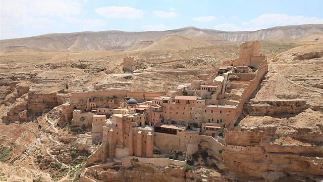 מנזר מרסבא (צילום: עינב ברזני) (צילום: עינב ברזני)