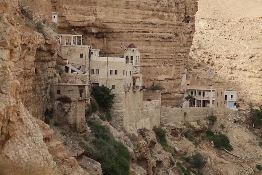 מנזר סנט ג'ורג' (צילום: עינב ברזני)