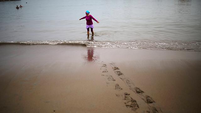 """רוזה אסקיבל ב""""חוף הדייגים"""" (צילום: AP)"""