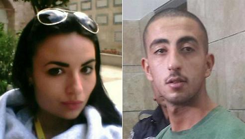 The tourist Daaria Magdalena Rojmiark (left); the alleged attacker Qutiba Atyan in court