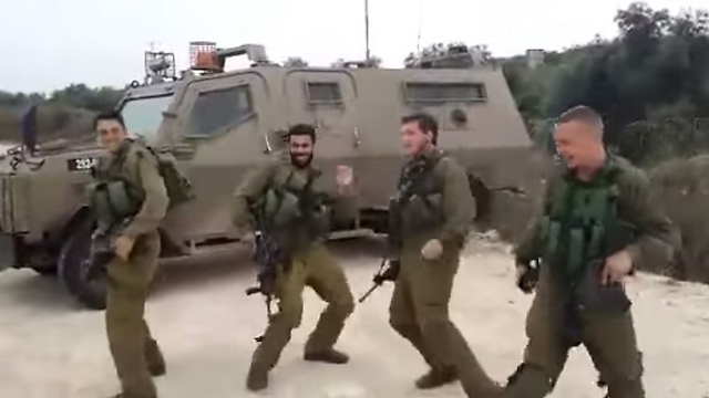 IDF troops dancing to 'Golden Boy'