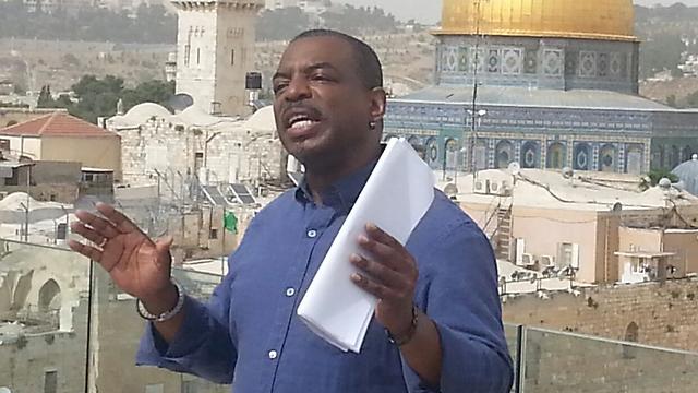 לוואר ברטון בישראל (צילום: רן נתנזון, משרד החוץ) (צילום: רן נתנזון, משרד החוץ)