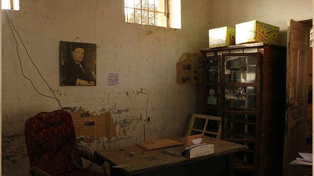Palmyra cell only last week prisoners were held here