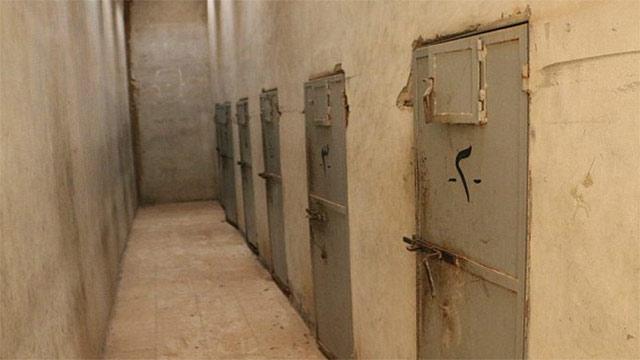 Infamous Palmyra Prison cells