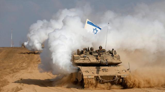 Les troupes de Tsahal quittent la bande de Gaza à la fin de la guerre de 2014 (Photo: Reuters) (Photo: Reuters)