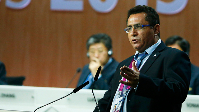 Eini in conciliatory speech at FIFA (Photo: Reuters)