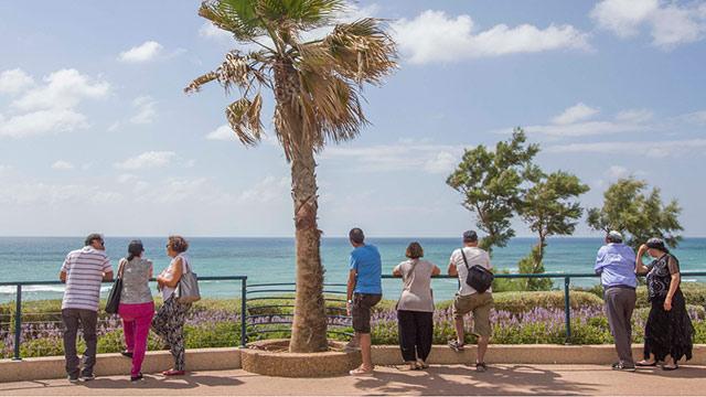 France in Netanya (Photo: Ido Erez)