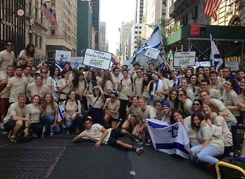 """1,200 צעירים כבר נמצאים בישראל כ""""חיילים בודדים"""" (צילום: צופים גרעין צבר)"""
