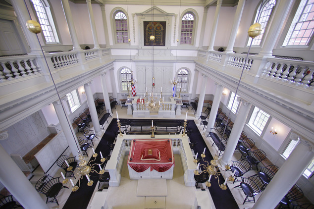 Touro Synagogue, Photo: AP