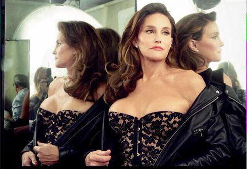 Caitlyn Jenner. 'A source of inspiration for us in Tel Aviv' (Photo: Vanity Fair)