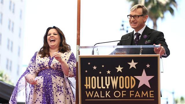 פול פיג ומליסה מקארת'י. עובדים טוב ביחד (צילום: GettyImages) (צילום: GettyImages)