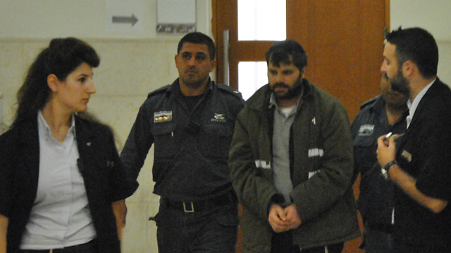 Yosef Ben-David, accused of Abu Khdeir's murder (Photo: Ofer Meir)