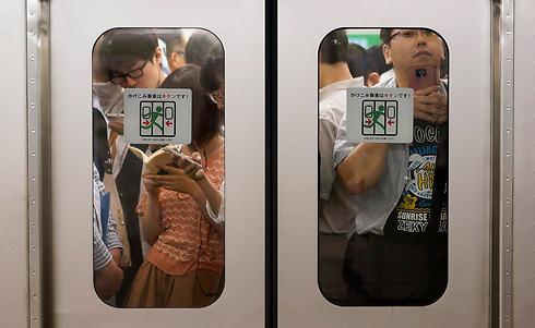 ביפן 620 אלף מעליות, 20 אחוזים מהן בבירה טוקיו (צילום: EPA) (צילום: EPA)