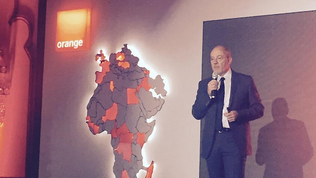 Orange CEO Stephane Richard in Cairo