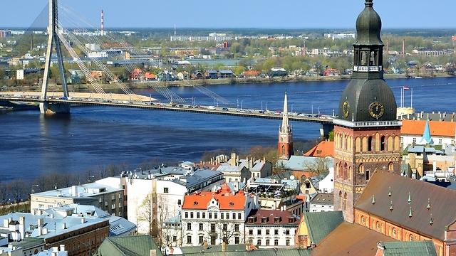 ריגה, בירת לטביה (צילום: shutterstock) (צילום: shutterstock)